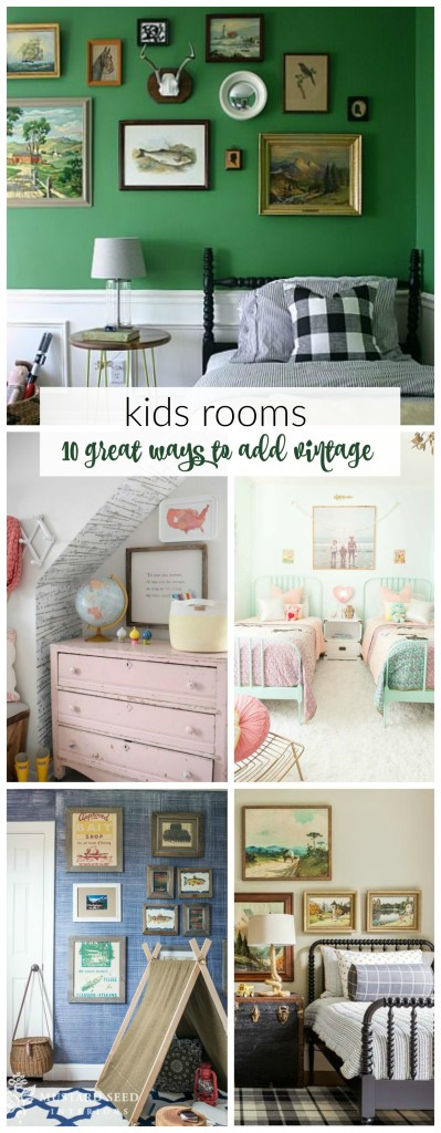 Kids Rooms-10 Great Ways to Add Vintage