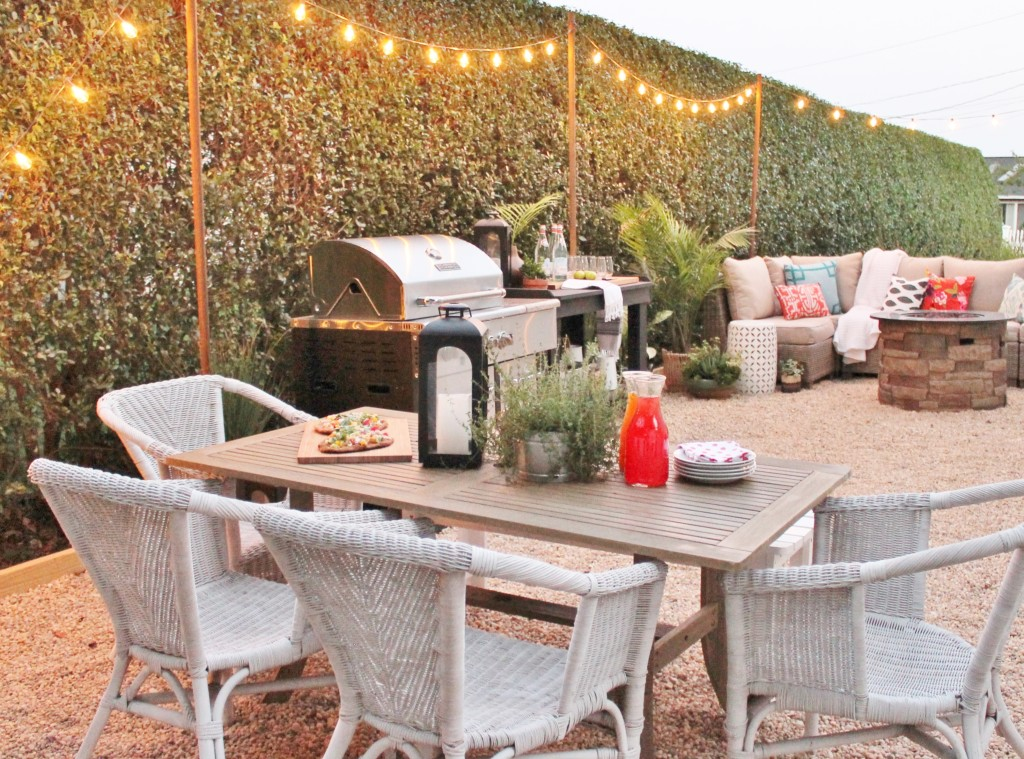 Hamptons Inspired Backyard-Shop The Look - City Farmhouse