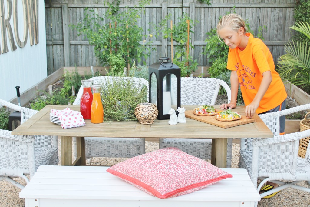Summer Nights + Loving Your Outdoor Space