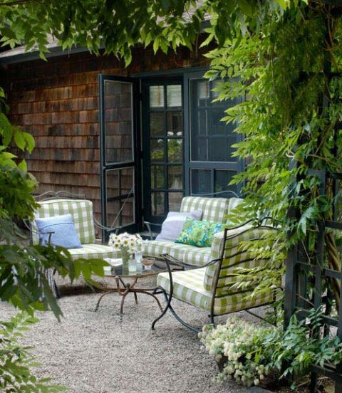 Pea Gravel Patio Inspiration
