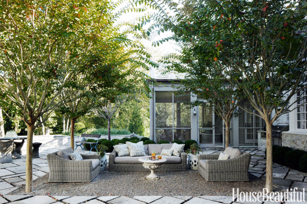 Pea Gravel Patio Inspiration City Farmhouse