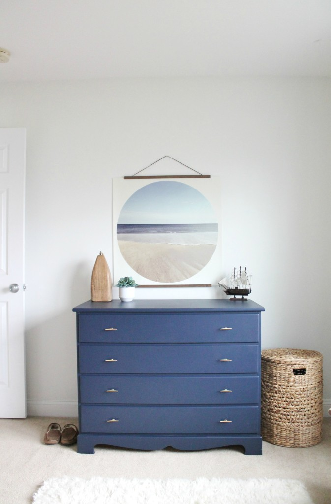 Jacku0027s Modern Coastal Bedroom U0026 Painted Dresser