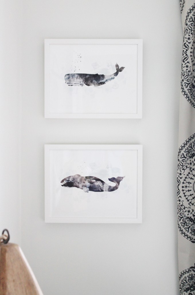 Whale Art from Minted-Perfect For Any Beach House