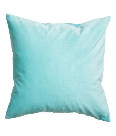 H & M Velvet Pillow