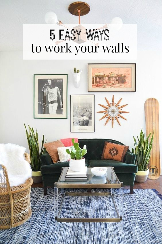 5 Easy Ways To Work Your Walls