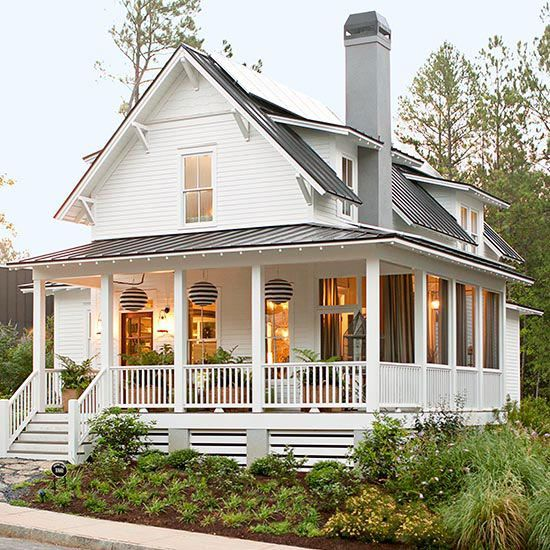 bhg 2 front porch musts good lighting plants - Porch Ideas