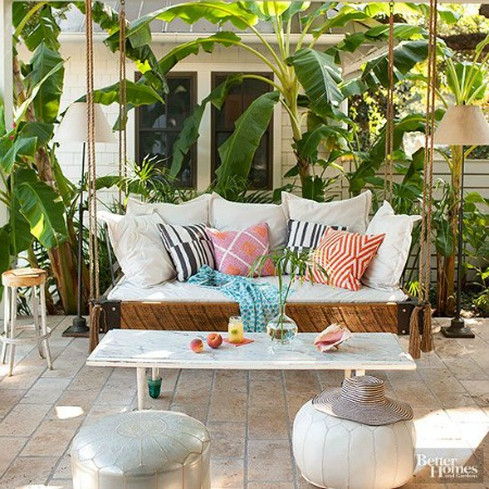 10 Fun + Fabulous Front Porch Ideas