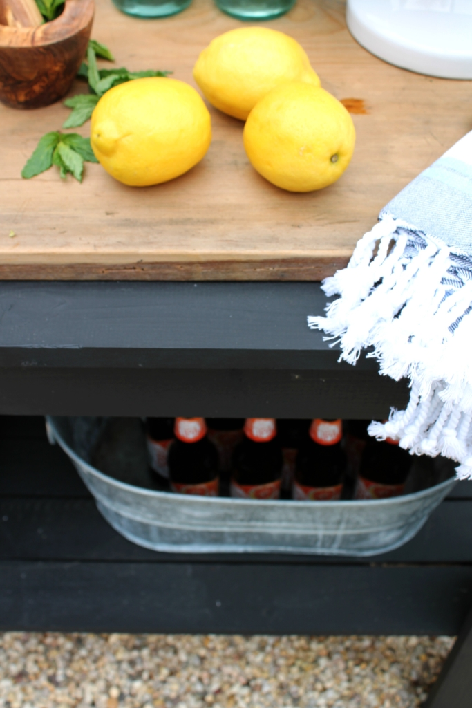 Patio Challenge Before & After With Joss & Main-DIY Cooler