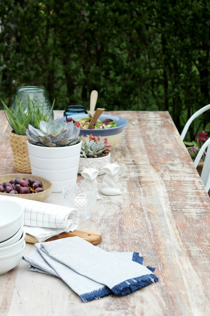 Patio Before & After With Joss & Main-Summer Tablescape