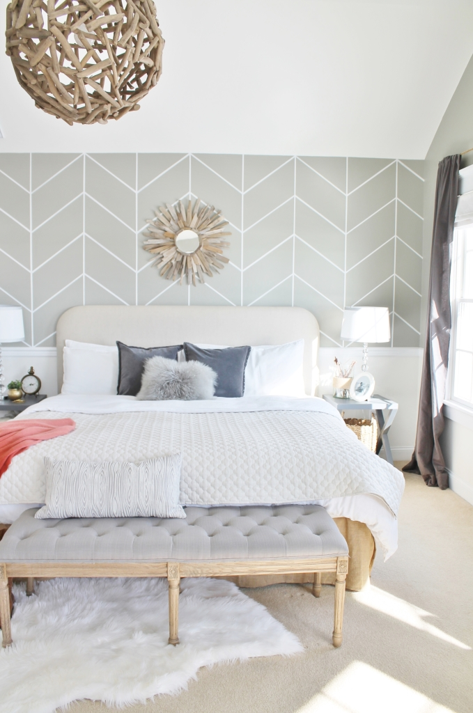 Design Series on You Tube-Finding your personal style. DIY Herringbone Wall & Driftwood Chandelier