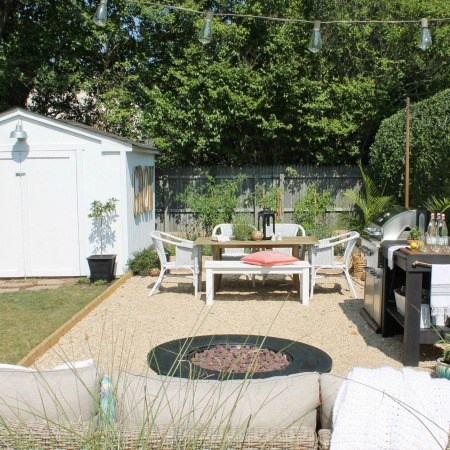 Create A DIY Pea Gravel Patio The Easy Way