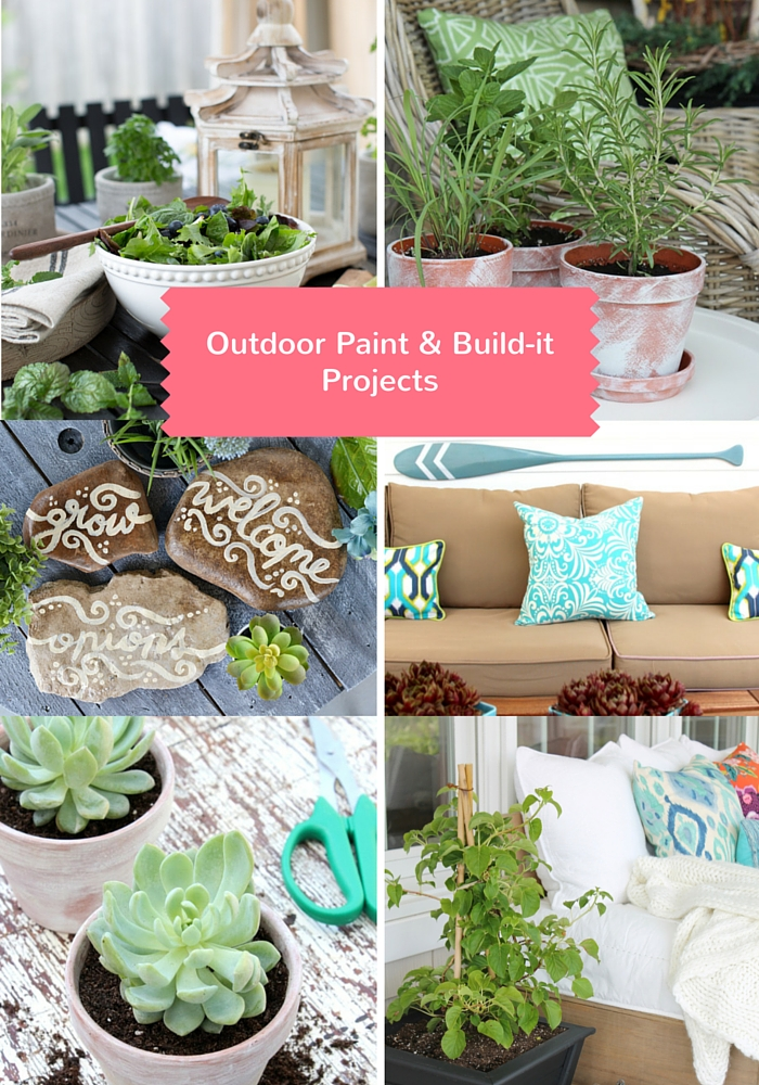 Outdoor Paint & Build Projects