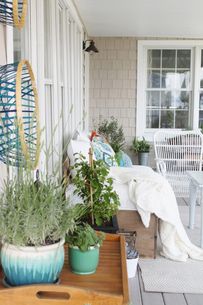 Summer Front Porch & Hammock 351