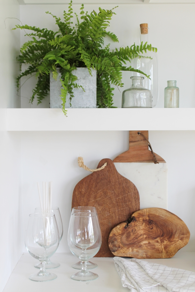 Summer Tour-Dining Room-Cutting Board Collection & Fern