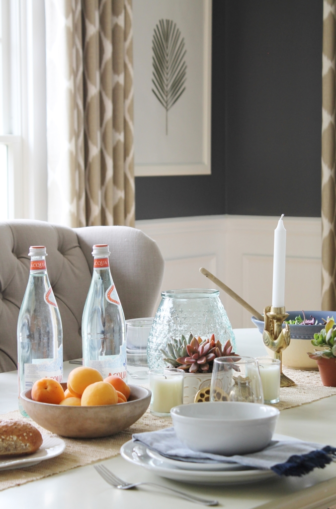 Summer Tour-Dining Room-Easy Ways To Add Color To A Table