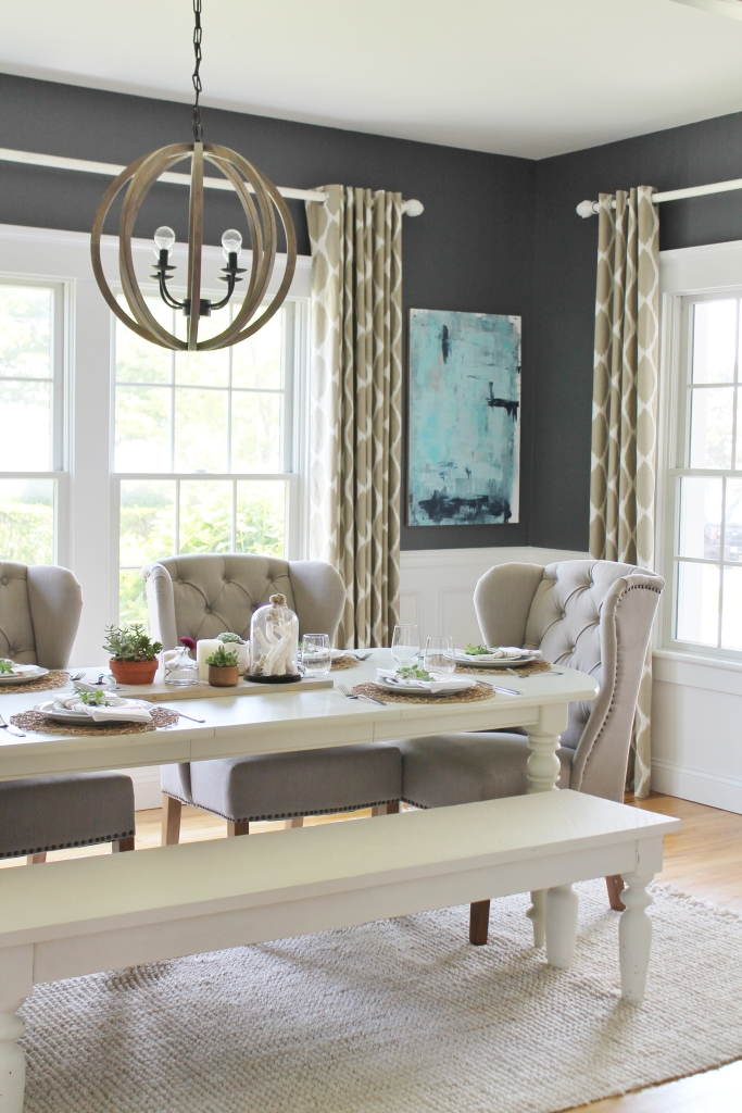 Design Series on You Tube-How to pick the right paint. Benjamin Moore Stormy Sky