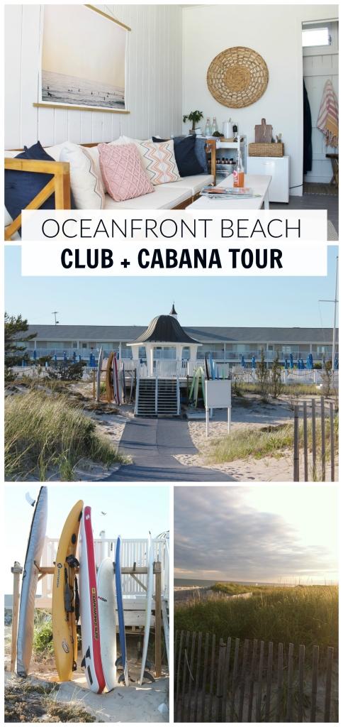 Beach Club + Cabana Tour