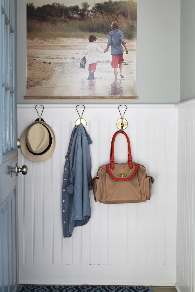 Easy DIY Frame With Large Photo