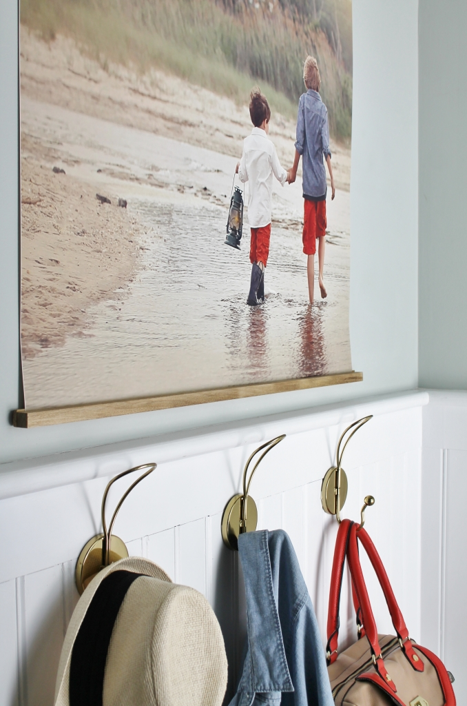 Easy DIY Frame With Large Photo - Copy
