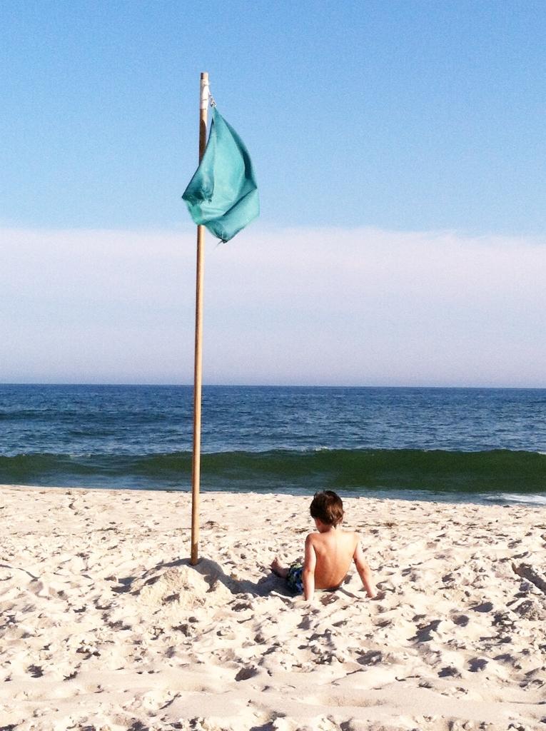 Jacks Room Beach & Flag