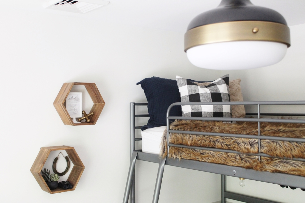 Rustic Tween Boys Room-Modern Touches