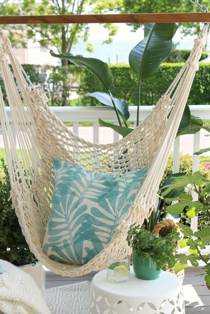 Summer Porch-Hanging Hammock