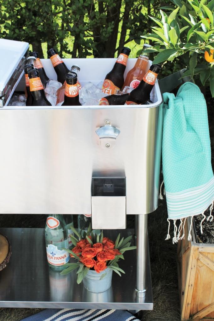 Backyard Summer Picnic Essentials-Bar Cart