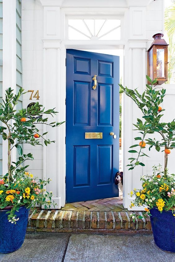 Bright Blue Door   Southern Living