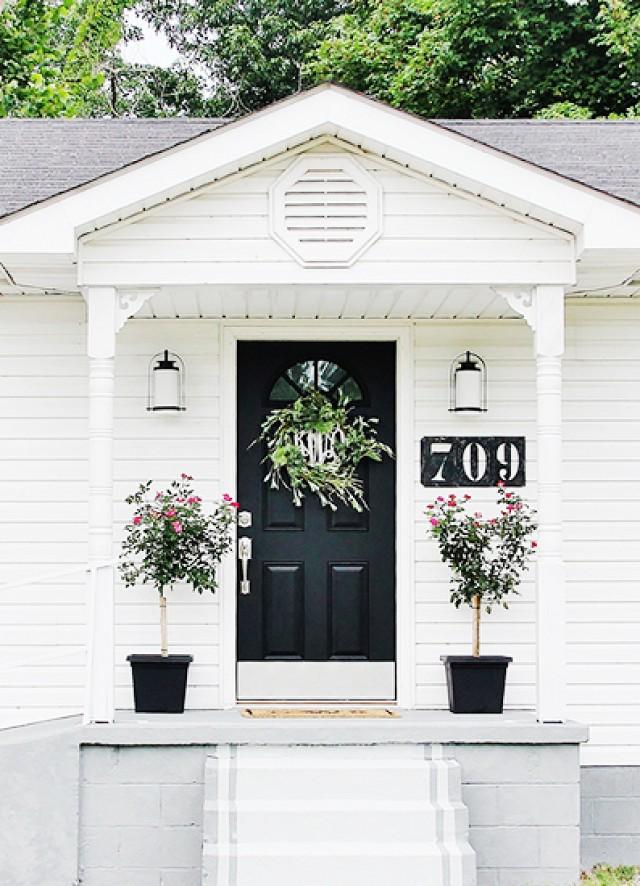 Superbe Classic Black Door   My Domaine