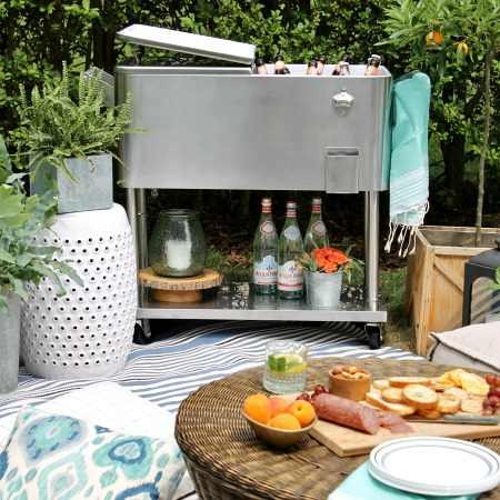 Summer Picnic-A Creative Space For Outdoor Entertaining