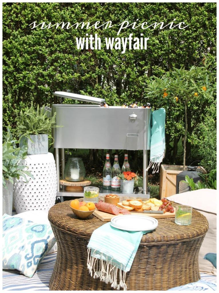 Summer Picnic With Wayfair