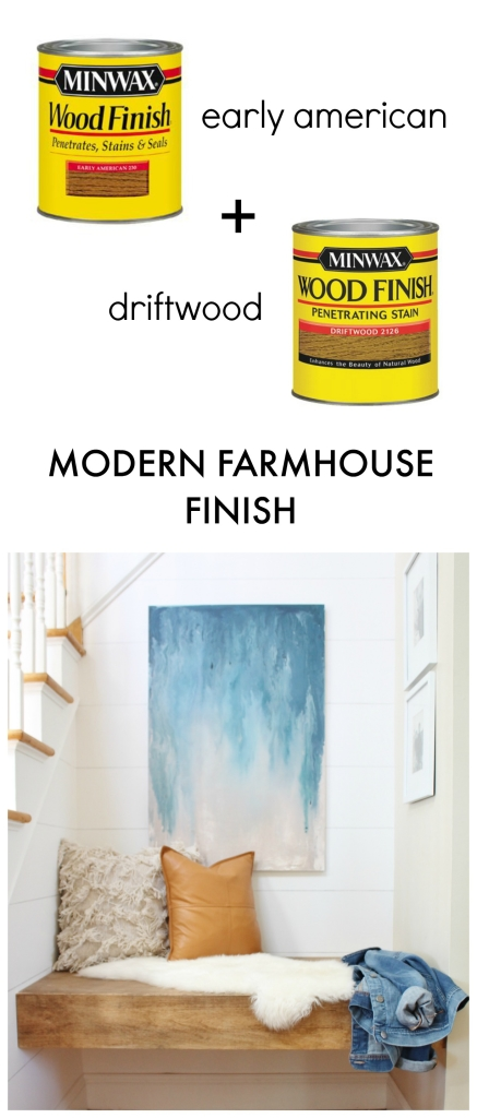 How to get a modern farmhouse finish