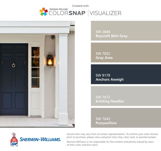 Front Door Color Research + Paint Giveaway