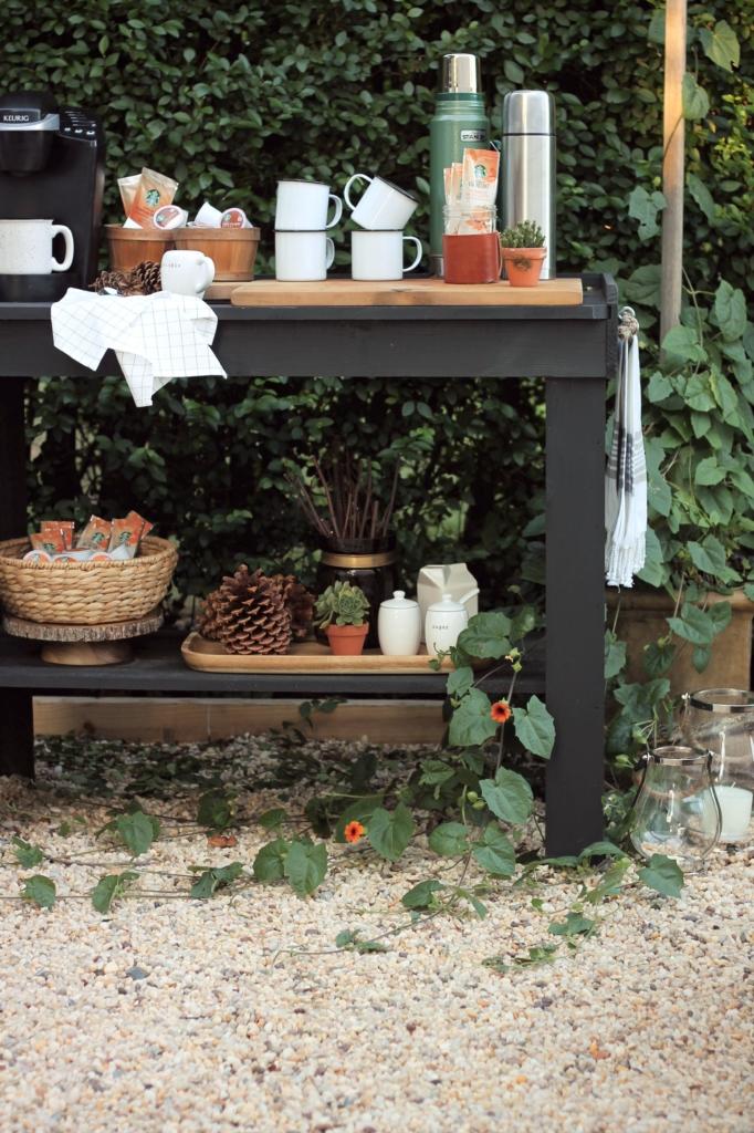 Fall capsule cozy home d cor essentials city farmhouse - Essentials for setting up a backyard bar ...