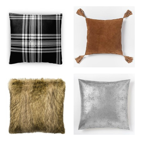 25 Favorite Cozy Chic Holiday Pillows