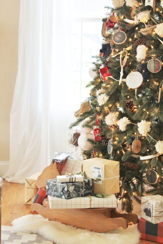 Christmas Neutrals + A Walk Down Holiday House Tour Lane