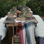 8 Brillant Ideas For A Rustic Tablescape + Being Kind