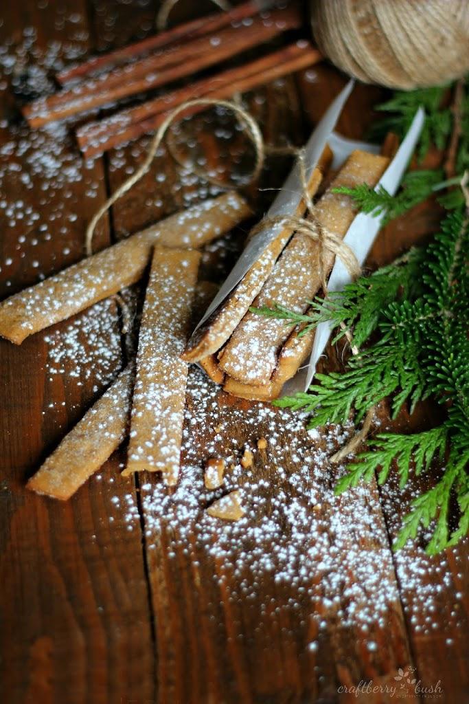 Best Holiday Recipes - Gingerbread Sticks - Craftberry Bush