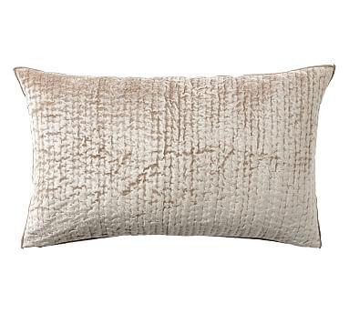 shiny-quilted-lumbar-pillow