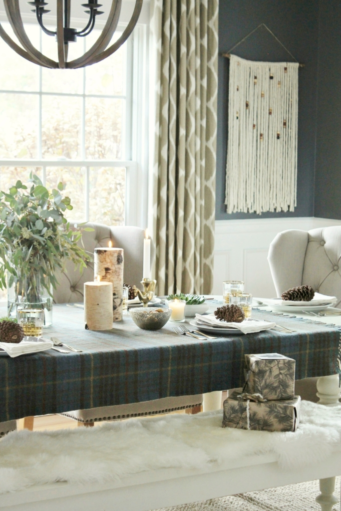 Cozy Holiday Dining Room + Home Good Giveaway