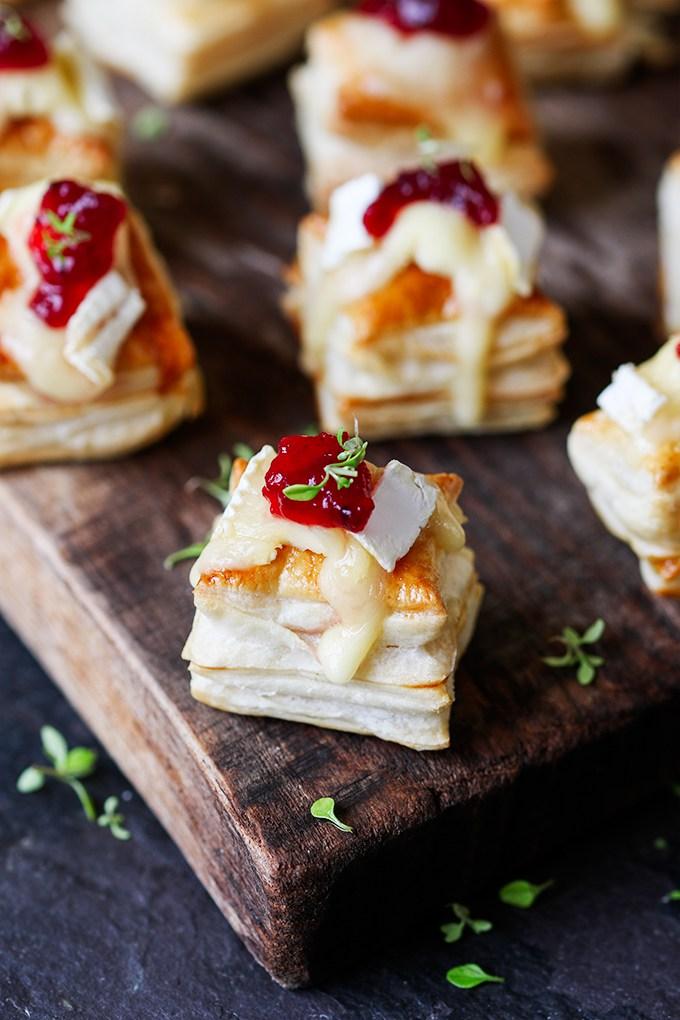 Best Holiday Recipes - Cranberry Brie Bites - Kitchen Sanctuary