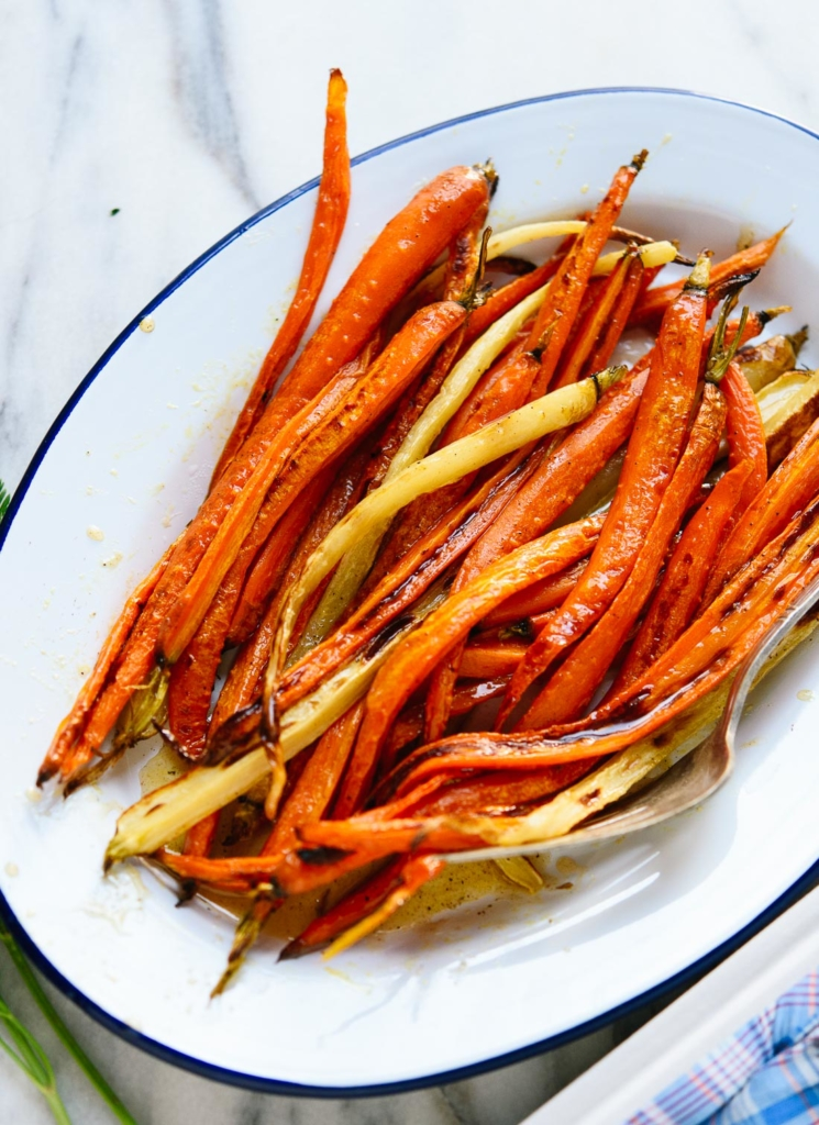 Best Holiday Recipes - Roasted Carrots with Honey - Cookie + Kate