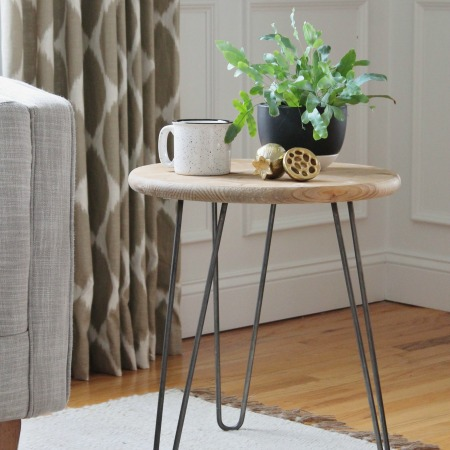 Mid-Century Modern Table For Under $50