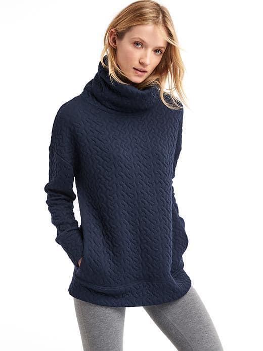 gap-women-jacquard-funnel-neck-pullover-size-l-true-indigo