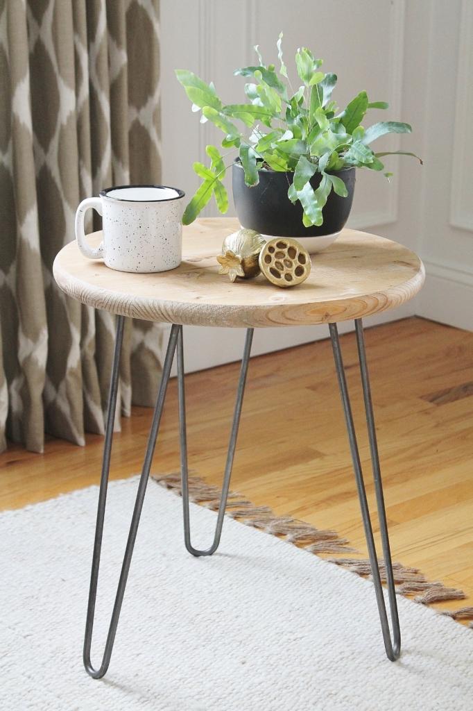 DIY Mid-Century Table