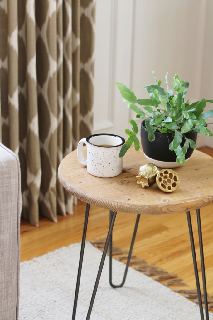 DIY Mid-Century Table For Under $50