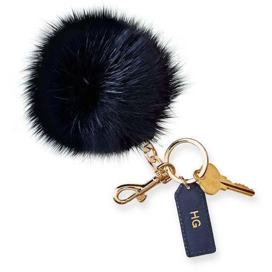 pompom-navy-keychain