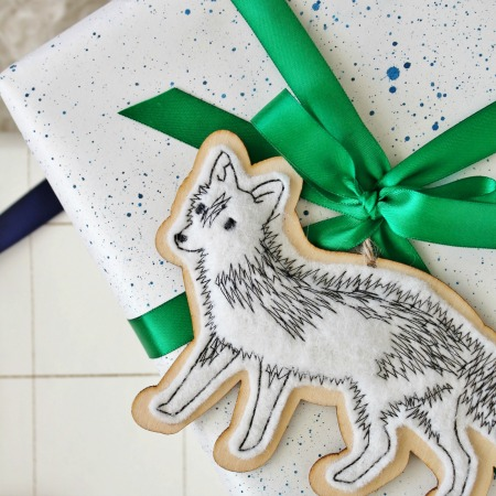 Paint Splatter + Sharpie Wrapping Idea Using Ikea Paper