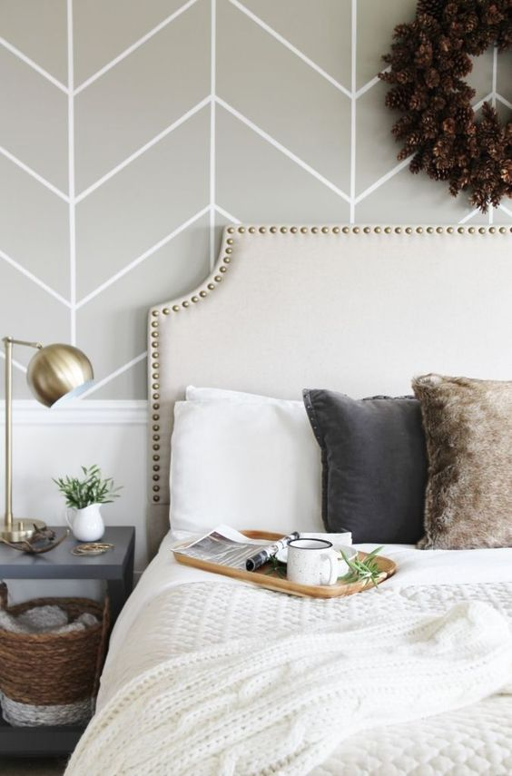 Trend Forecast for 2017-Upholstered Headboards + Nailheads