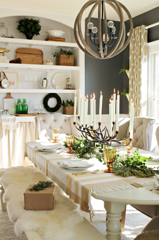 City Farmhouse Dining Room With Birch Lane-